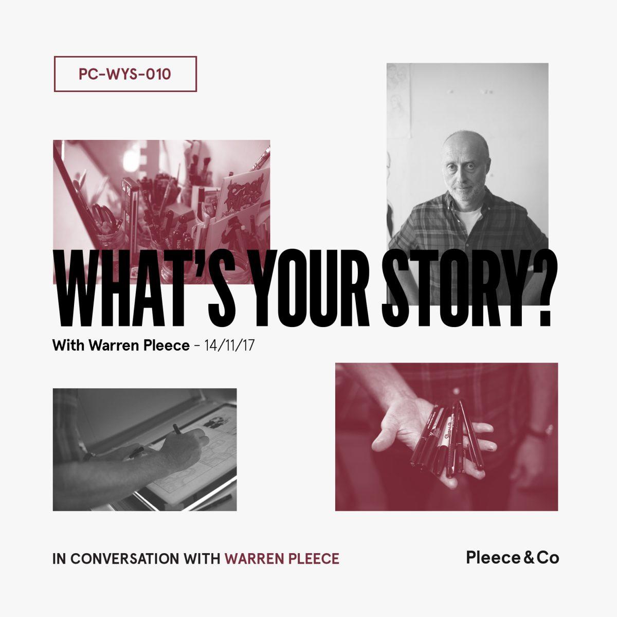 Warren Pleece What's Your Story?