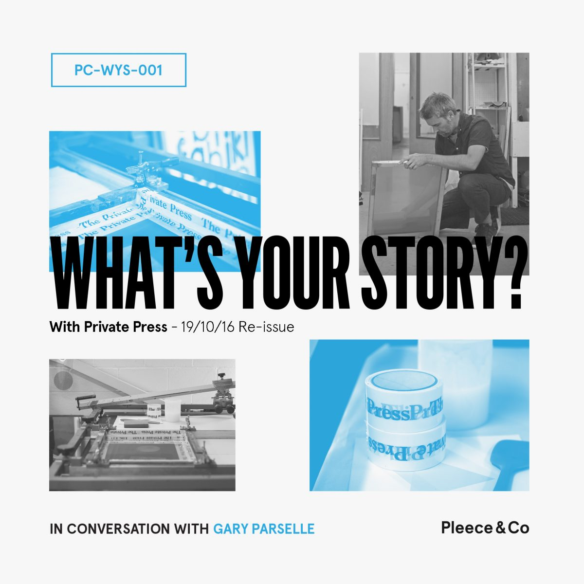 Private Press  What's Your Story? Reissue