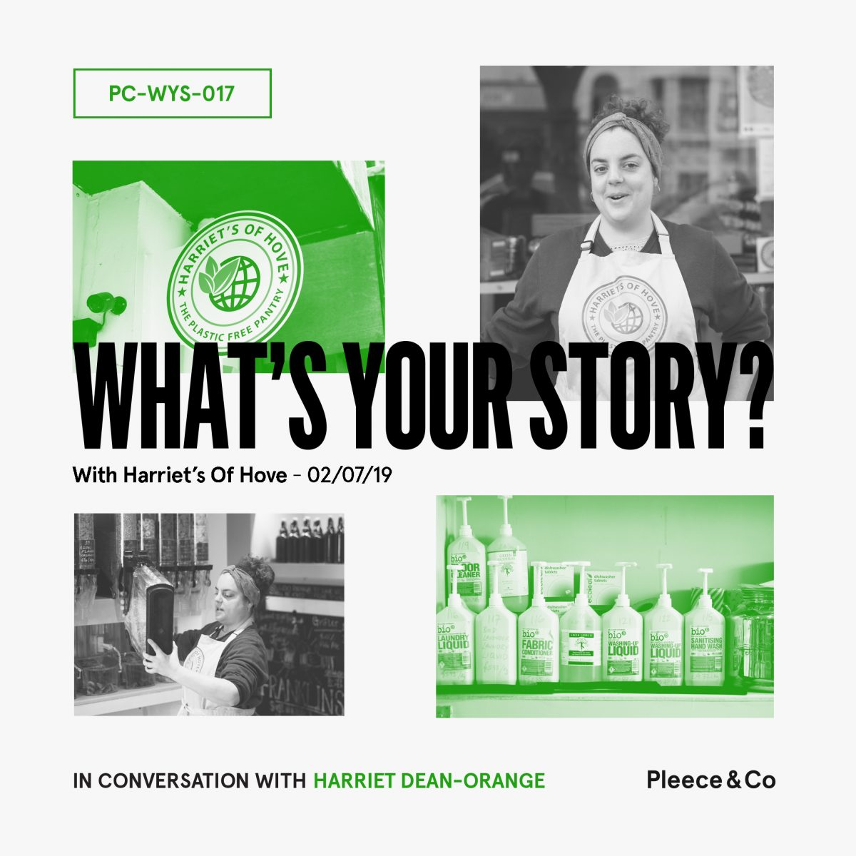 Harriet's Of Hove  What's Your Story?